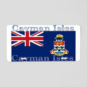 Cayman Islands Aluminum License Plate