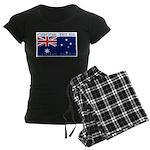 Cocos Islands Women's Dark Pajamas
