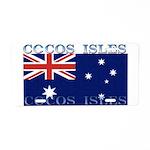 Cocos Islands Aluminum License Plate