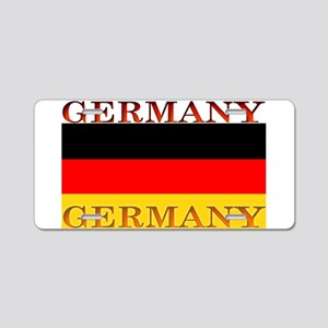 Germany German Flag Aluminum License Plate