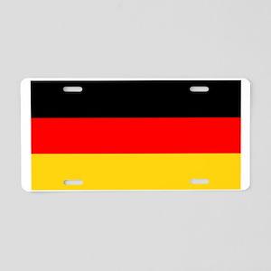 Germany German Blank Flag Aluminum License Plate
