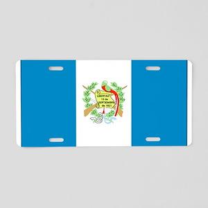 Guatemala Blank Flag Aluminum License Plate