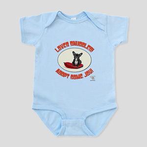 LOVES SNUGGLES! Infant Bodysuit