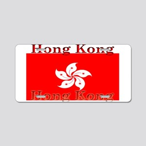 Hong Kong Flag Aluminum License Plate