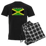 Jamaica Jamaican Flag Men's Dark Pajamas