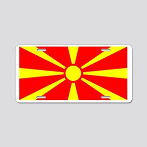 Macedonia Macedonian Blank Fl Aluminum License Pla