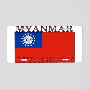 Myanmar Aluminum License Plate