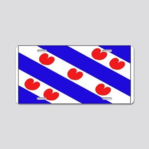 Friesland Frisian Blank Flags Aluminum License Pla