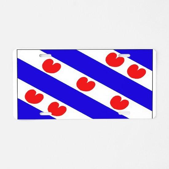 Friesland Frisian Blank Flags Aluminum License Pla