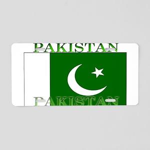 Pakistan Pakistani Flag Aluminum License Plate
