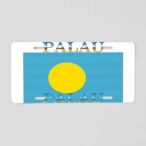 Palau Aluminum License Plate