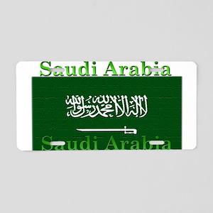 Saudi Arabia Arabian Flag Aluminum License Plate