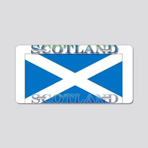 Scotland Scottish Flag Aluminum License Plate