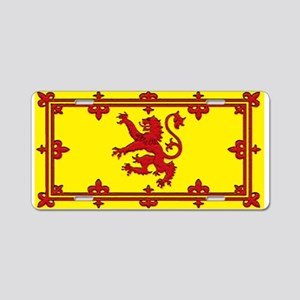 Scotland Scottish Blank Flag Aluminum License Plat