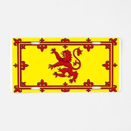 Scotland Scottish Blank Flag Aluminum License Plat