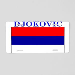 Djokovic Serbia Serbian Aluminum License Plate
