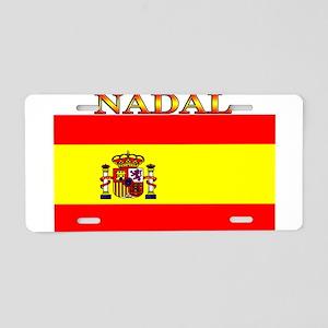 Nadal Spain Spanish Flag Aluminum License Plate