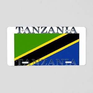 Tanzania Aluminum License Plate