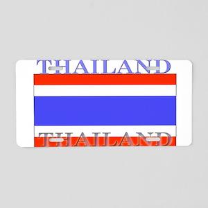 Thailand Thai Flag Aluminum License Plate