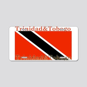 Trinidad & Tobago Flag Aluminum License Plate