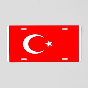 Turkey Turkish Blank Flag Aluminum License Plate
