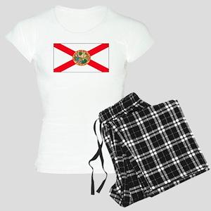 Florida Sunshine State Flag Women's Light Pajamas