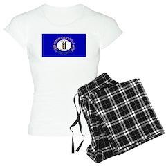 Kentucky Blank Flag Pajamas