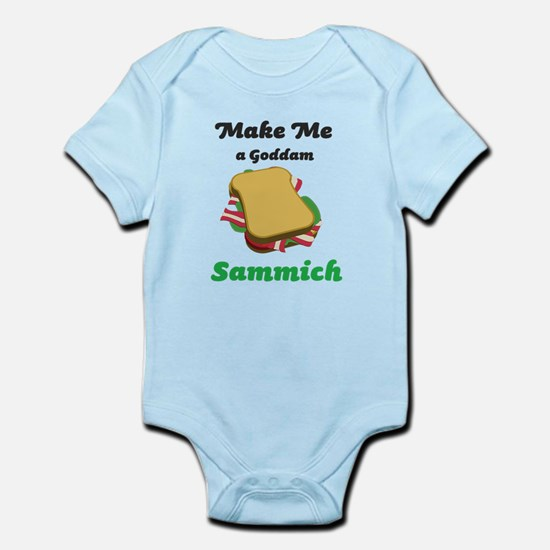 Goddam Sammich Infant Bodysuit