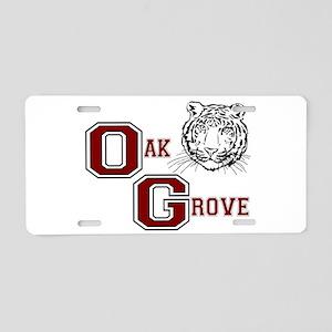 Oak Grove, Alabama Aluminum License Plate