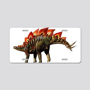 Stegosaurus Jurassic Dinosaur Aluminum License Pla