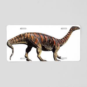Plateosaurus Jurassic Dinosau Aluminum License Pla