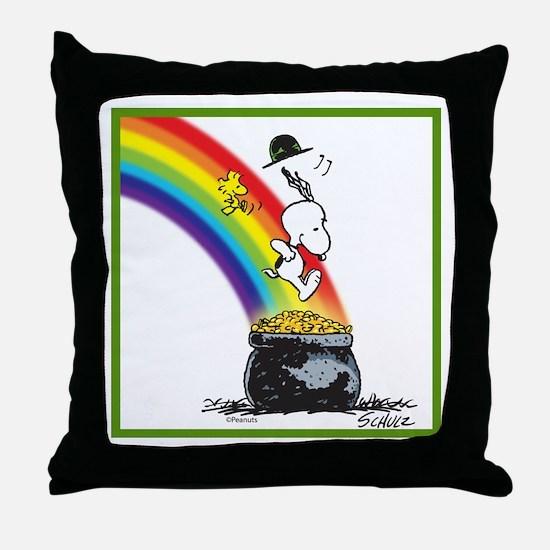 Pot O' Gold Throw Pillow