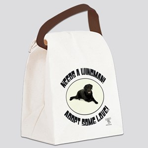 NEEDS A WINGMAN! Canvas Lunch Bag
