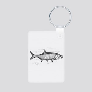 Tarpon Aluminum Photo Keychain