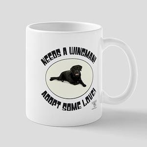 NEEDS A WINGMAN! 11 oz Ceramic Mug