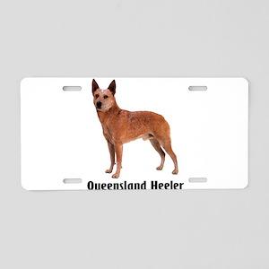 Queensland Heeler Aluminum License Plate