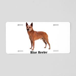Blue Heeler Dog Aluminum License Plate