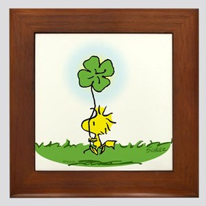 Woodstock Shamrock Framed Tile