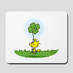 Woodstock Shamrock Mousepad