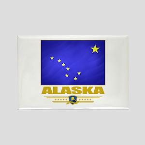 Alaska Pride Rectangle Magnet