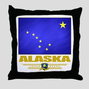 Alaska Pride Throw Pillow
