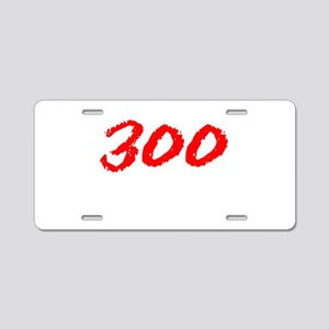 300 Spartans Sparta Aluminum License Plate