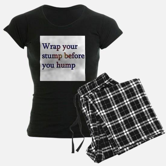 Wrap Your Stump Condom Pajamas
