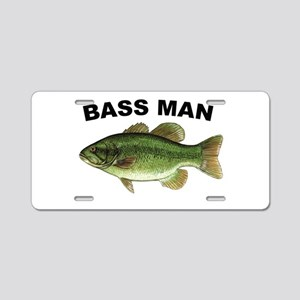 Bass Man ( Ass Man ) Fishing Aluminum License Plat