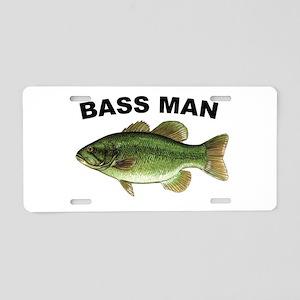 Bass Man ( Ass Man ) Fishing Aluminum License Plat