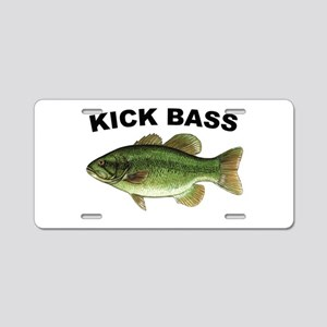 Kick Bass Bassmaster Aluminum License Plate