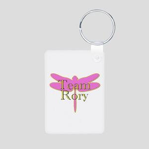 Team Rory Gilmore Girls Aluminum Photo Keychain