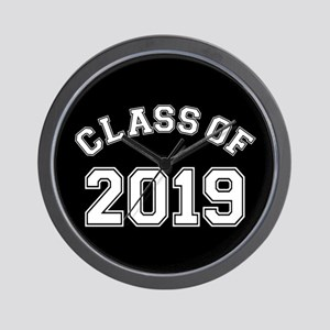 Class Of 2019 Wall Clock