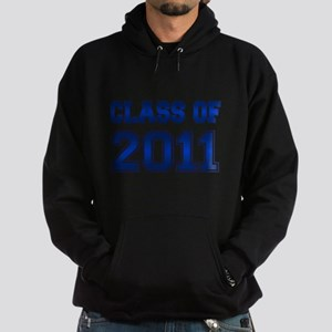 CLASS OF 2011 (BLUE) Hoodie (dark)