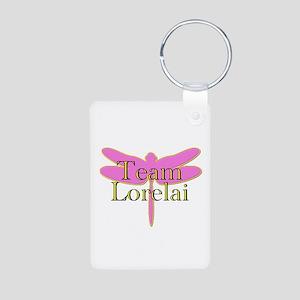 Team Lorelai Gilmore Girls Aluminum Photo Keychain